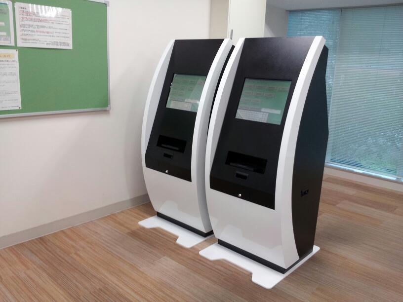 導入事例 19インチ キオスク端末 証明書発行機として国立大学へ設置 事例